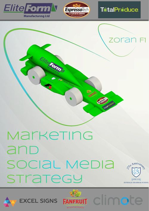 Zoran F1 - Marketing and Social Media Report