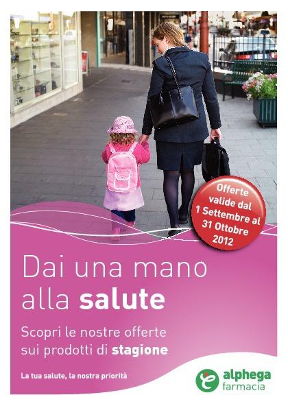 Volantino Alphega Settembre ottobre 2012