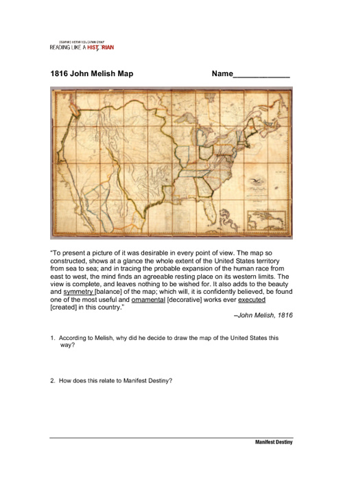 How Did Americans Justify Westward Expansion?