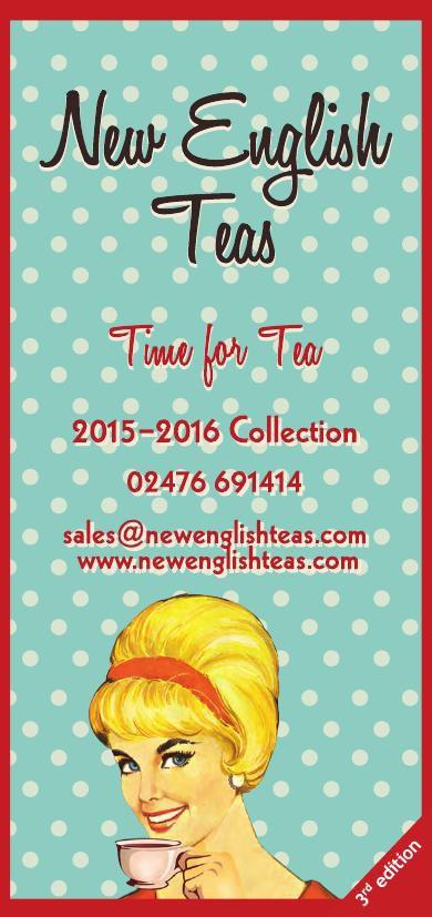 New English Teas Catalogue 2015 3rd Edition