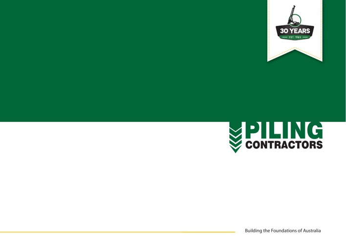 Piling Contractors Corporate Brochure