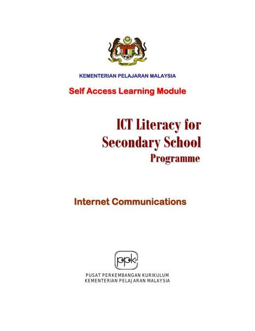 Module 3 - Internet Communication - Intro