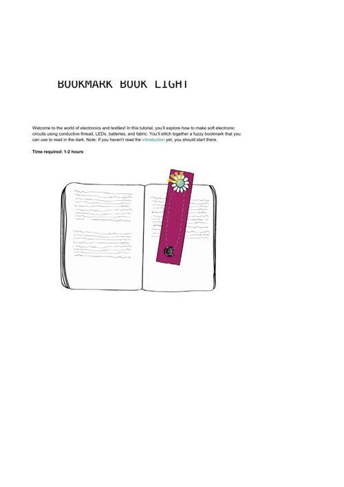 Bookmark Book light 1