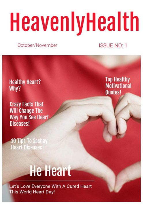 Heavenly Health Cover Page