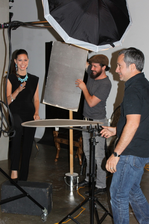 Behind-The-Scenes of the Zadok Jewelers Photo-Shoot