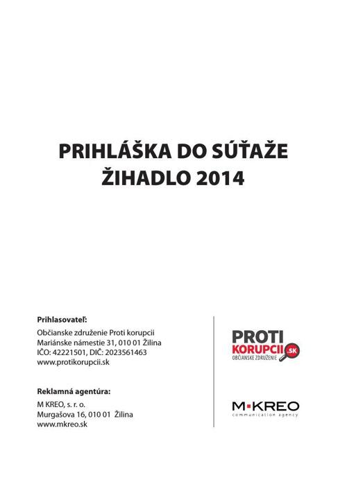 Proti korupcii - Protikorupčný festival
