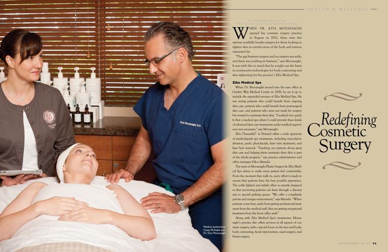 Eugene Magazine Kiya Movassaghi MD