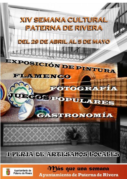 XVI Semana Cultural Paterna de Rivera