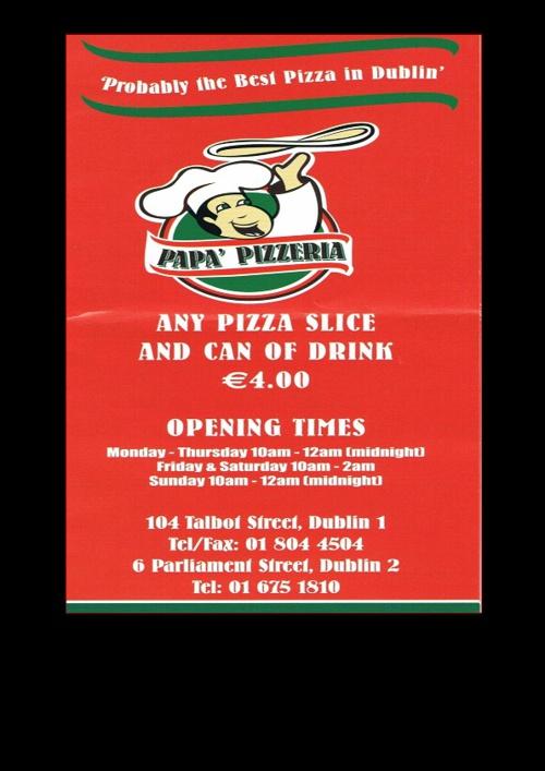 Pa Pa's Pizza