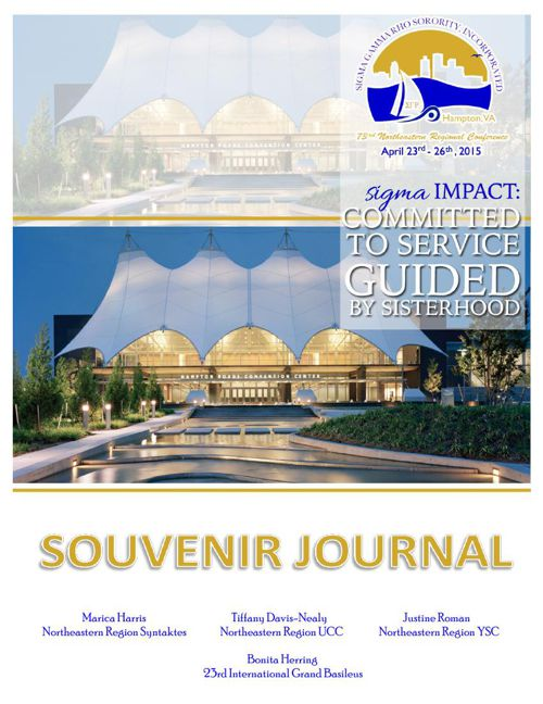 73rd Regional Conference Souvenir Journal 2015.FINAL