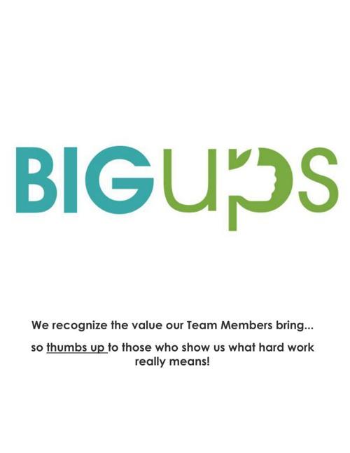 Current Big ups