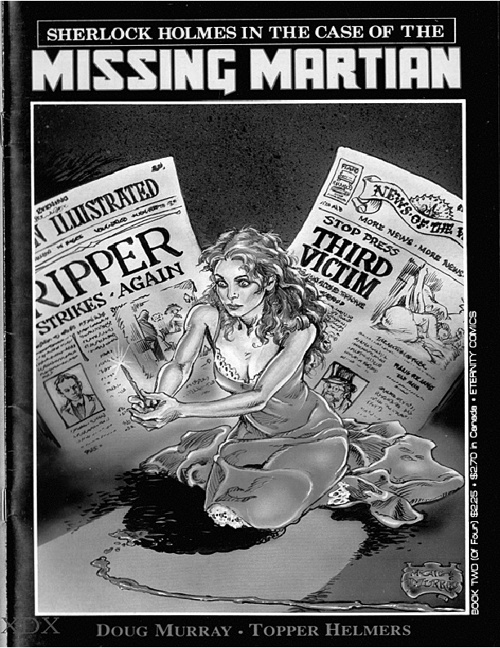 Sherlock Holmes in the Case of the Missing Martian 02