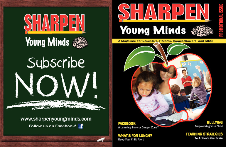 Sharpen Young Minds Promo Issue