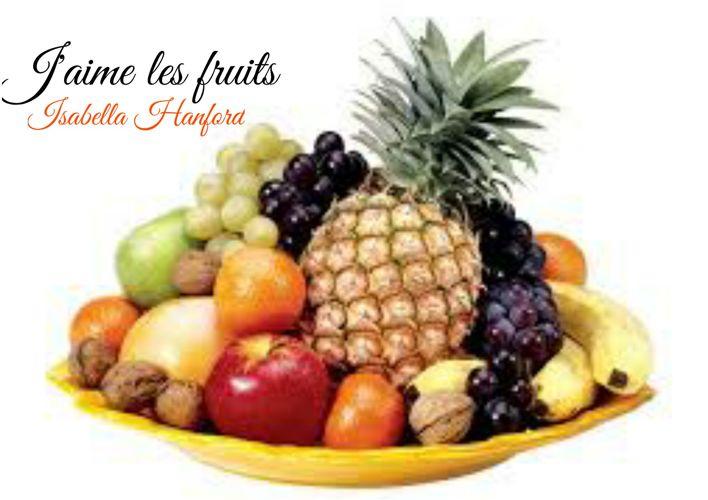 J'aime les fruits