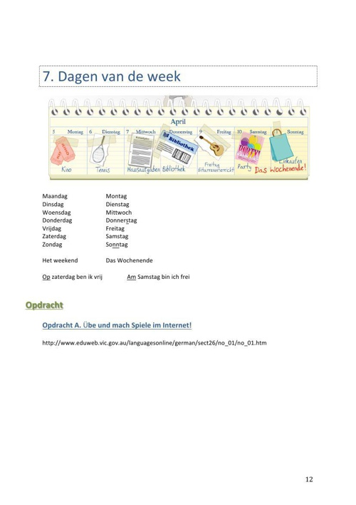 Grammaticaboekje 2e klassen (K.Dekker)deel2