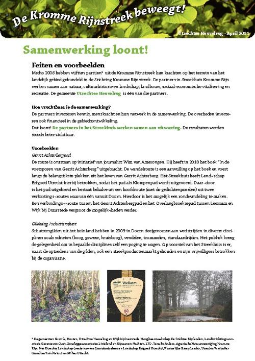 Factsheets Utrechtse Heuvelrug