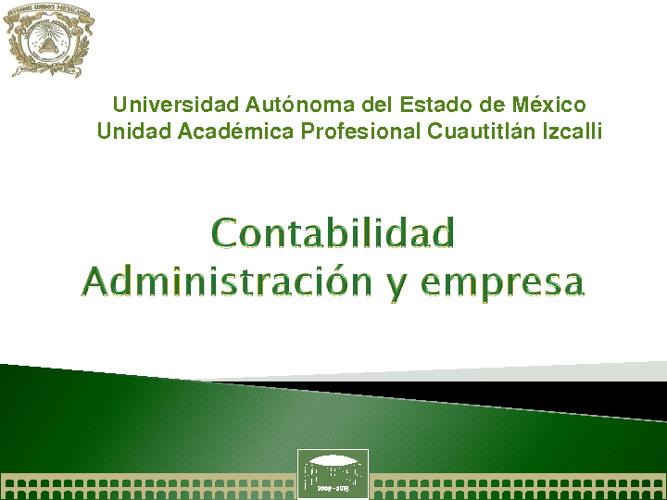 Administración y empresa