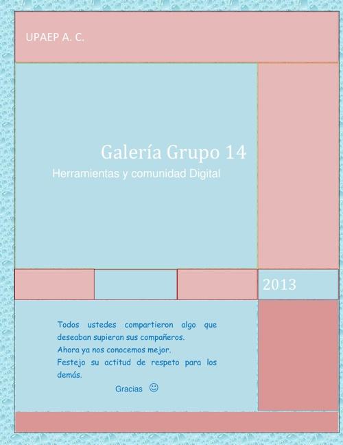 Galeria grupo 14