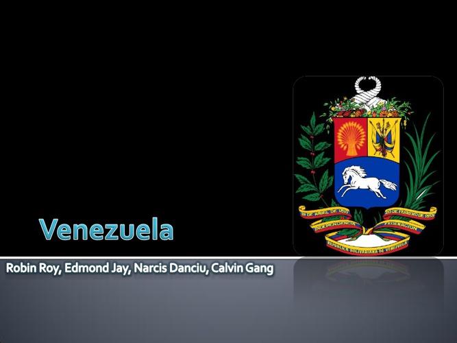 Venezuela - History