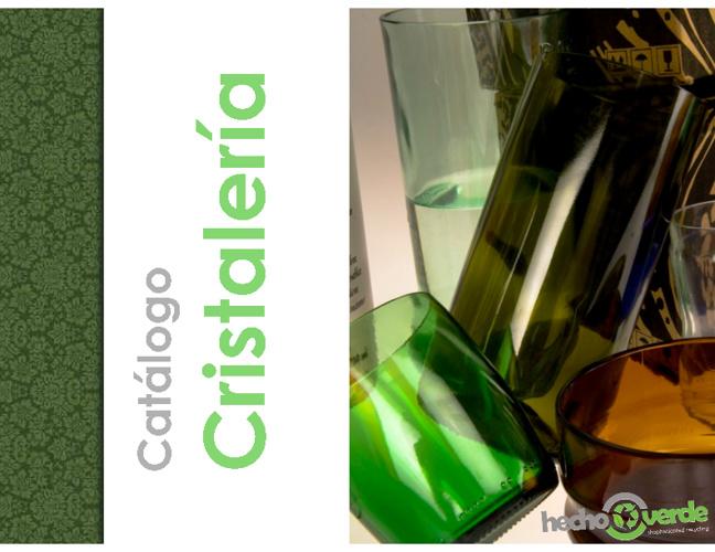 Catalogo cristaleria reciclada hechoverde