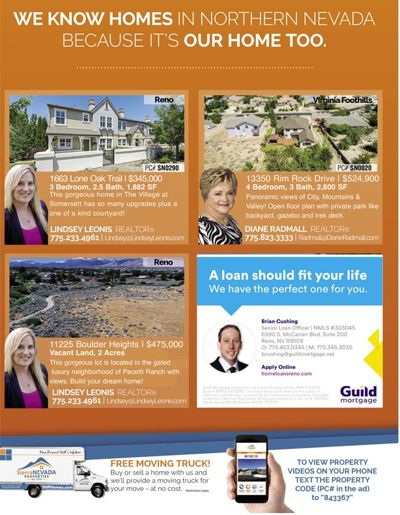 SNP Ad in August Homes & Land Magazine