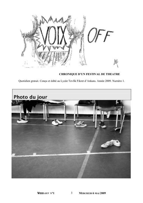 Voix Off n°1 / 2009