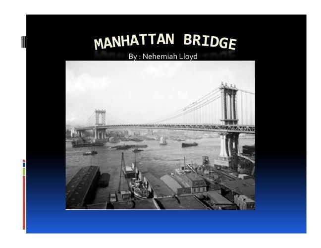 bridge powerpoint / book