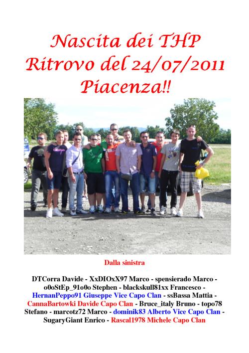 FOTO PIACENZA - 24/07/2011