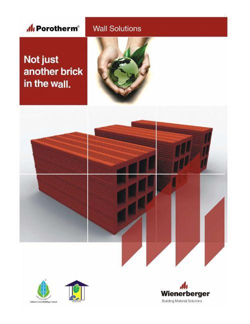 Porotherm Smart Brick Brochure