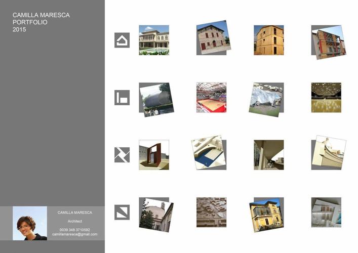 Portfolio e CV Camilla Maresca