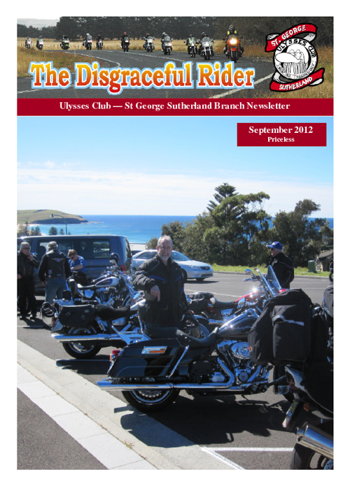 The Disgraceful Rider September 2012
