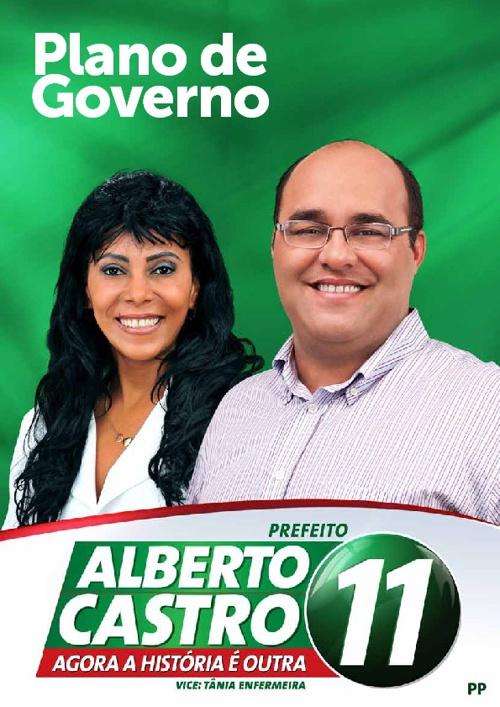 PLANO DE GOVERNO ALBERTO CASTRO
