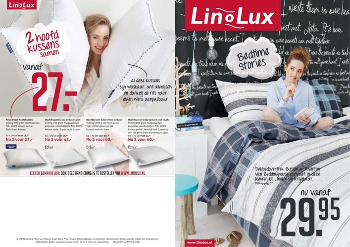 Maandfolder Linolux