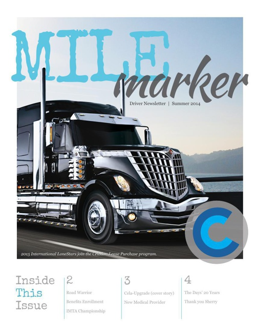 MileMarker Newsletter Summer 2014