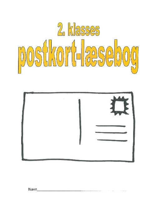 2. klasses postkort-læsebog