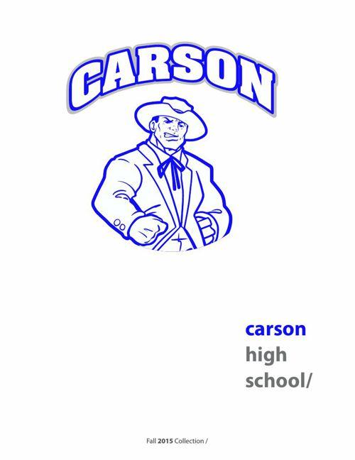 2015 Carson High Catalog