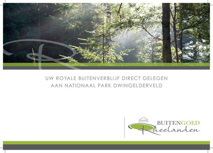 Brochure Buitengoed Rheelanden (Zethoven)