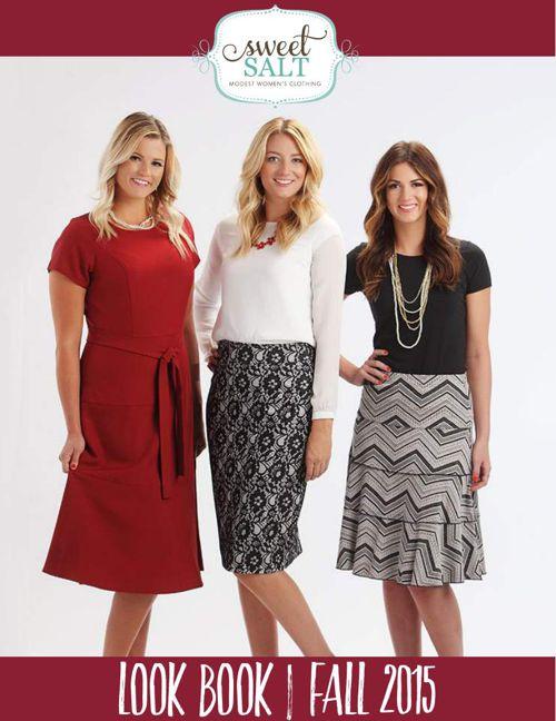Sweet Salt Clothing Fall 2015 Look Book