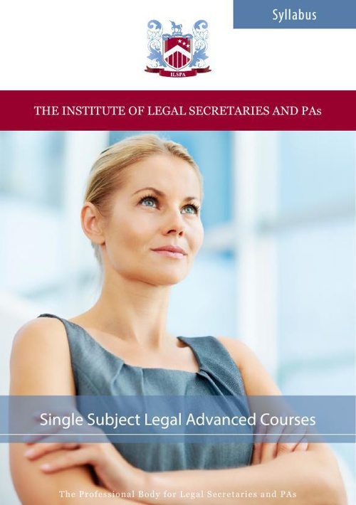 ILSPA's Single Subject Advanced Level Courses