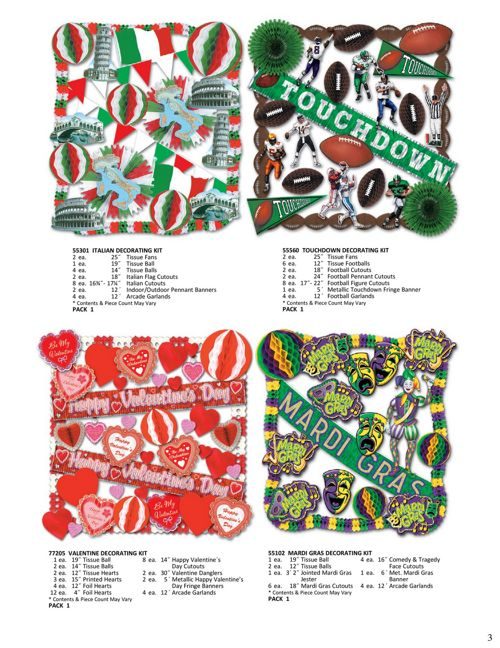 2018 Decorating Kits Flyer