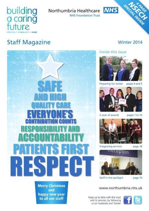 Northumbria Healthcare Staff Magazine December 2014