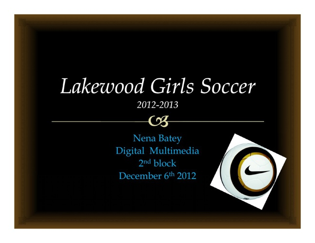 lakewood  girls soccer