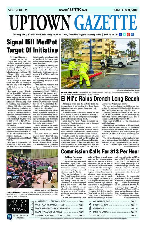 Uptown Gazette  |  January 8, 2016