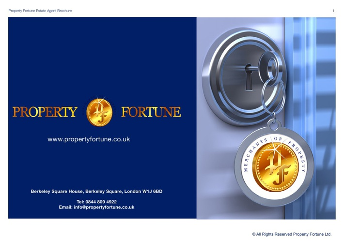 Property Fortune Agent Brochure