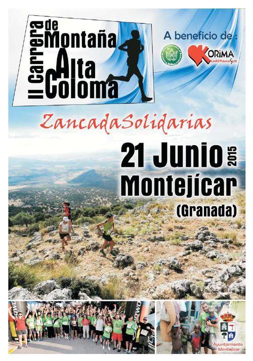 Diptico Carrera Solidaria 2015