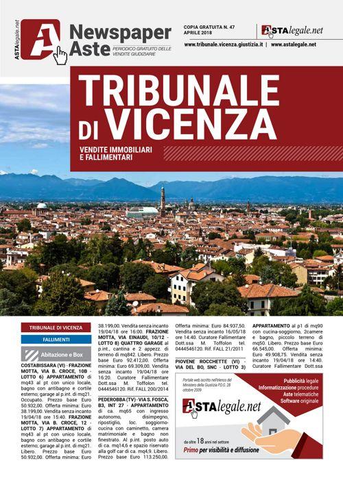 Vicenza aprile 2018