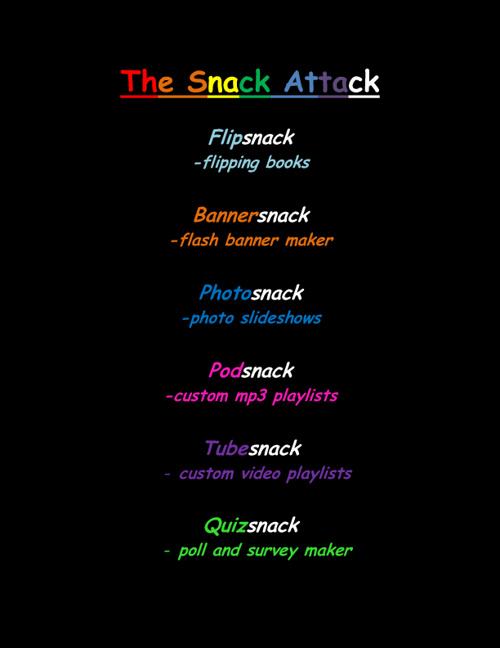 Web 2.0.......The Snack Attack