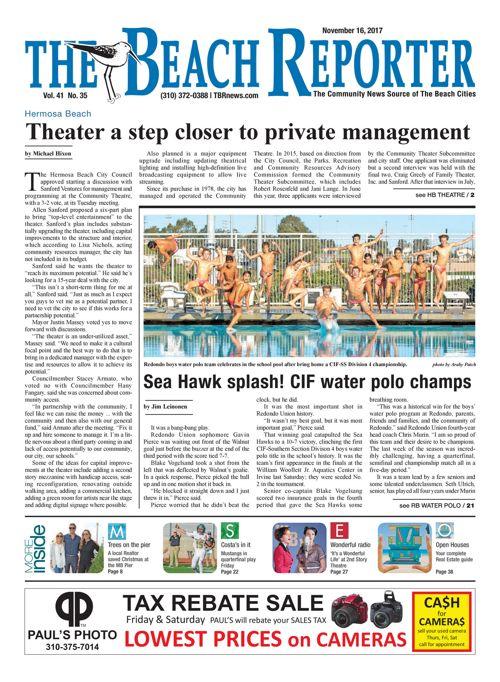 The Beach Reporter | November 16, 2017