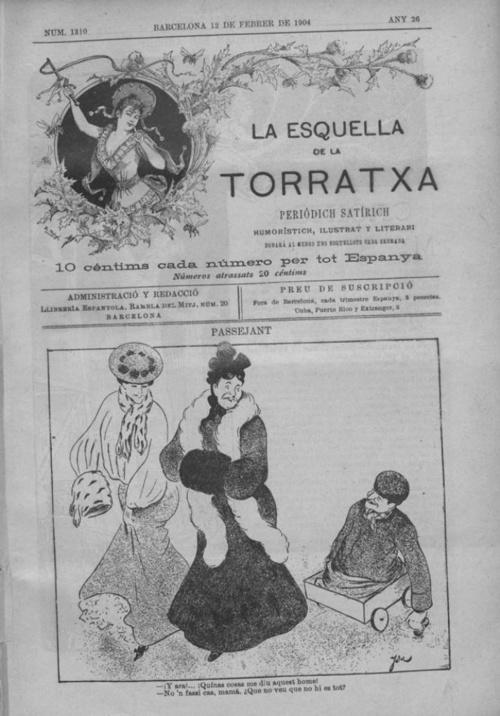 Esquella de la Torratxa num 1310 febrer 1904