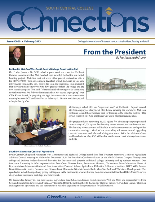 February 2013 Connections Newsletter